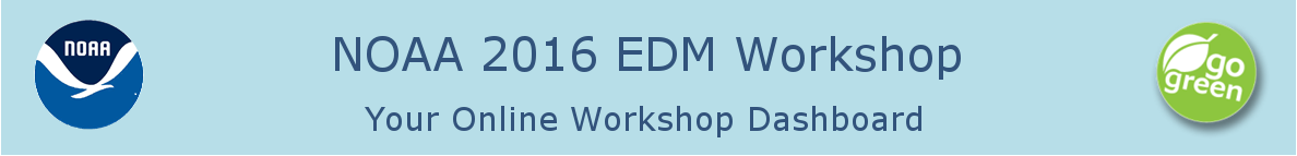 NOAA 2016 Environmental Data Management Conference